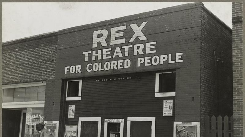 The Rex theatre for Negro people