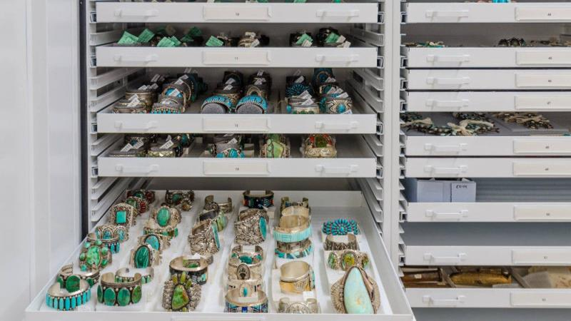 MNA's Native American jewelry collection includes over 3,200 pieces.