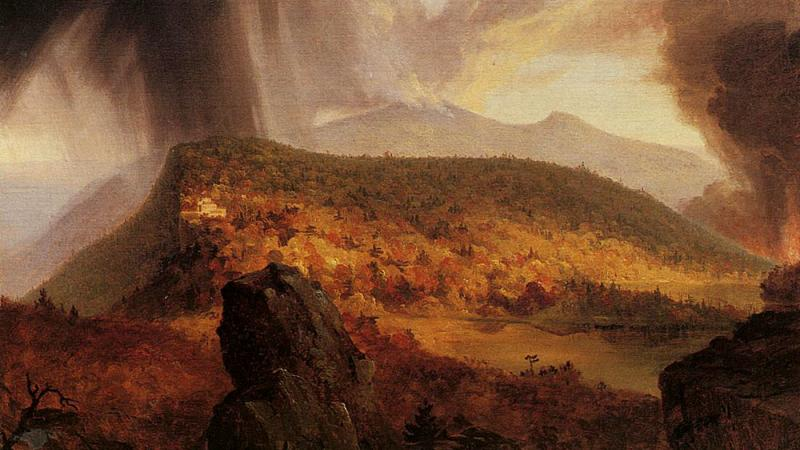 Thomas Cole Catskills Four Elements Painting