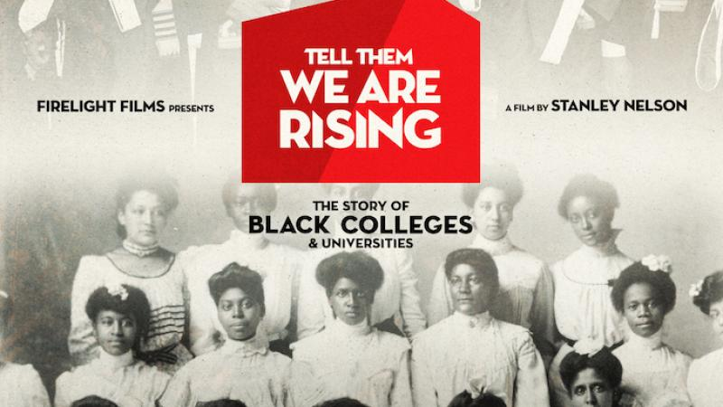"Movie poster for ""Tell Them We Are Rising"""