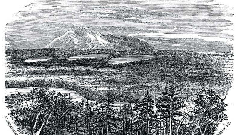 Plate 31 - View of Katahdin