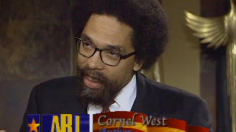 Author and public scholar Cornel West, interviewed on ABJ in 1998.