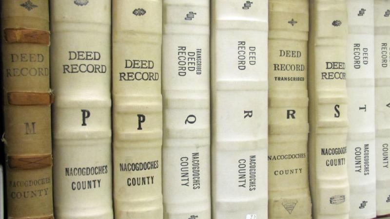 Deed Books, Nacogdoches County