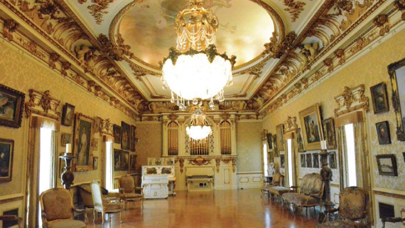 Flagler Museum Music Room