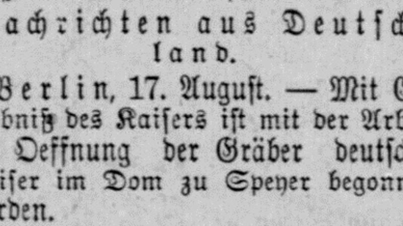 Chronicling America's Historic German Newspapers and the