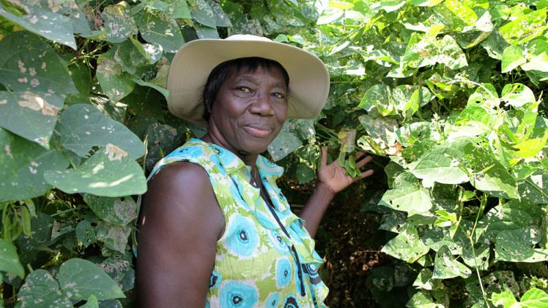 Haylene Green of West End Community Urban Garden Nursery, Atlanta, GA.