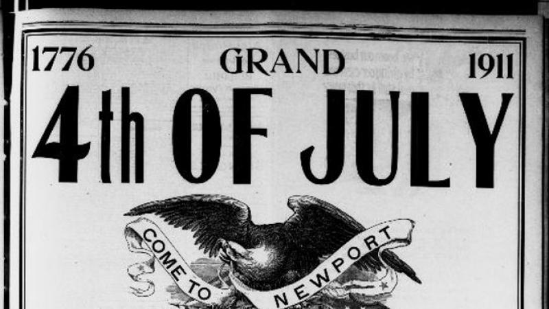 Ad for Grand 4th of July, Newport, Washington