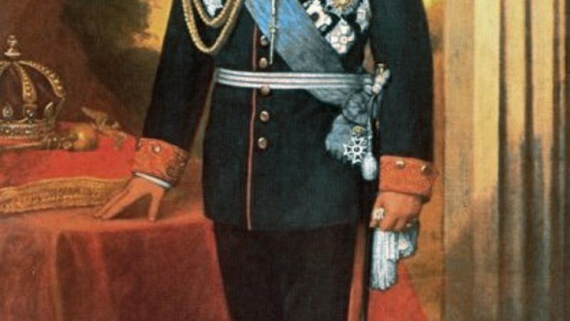 Official painting of King David Kalakaua by William Cogswell