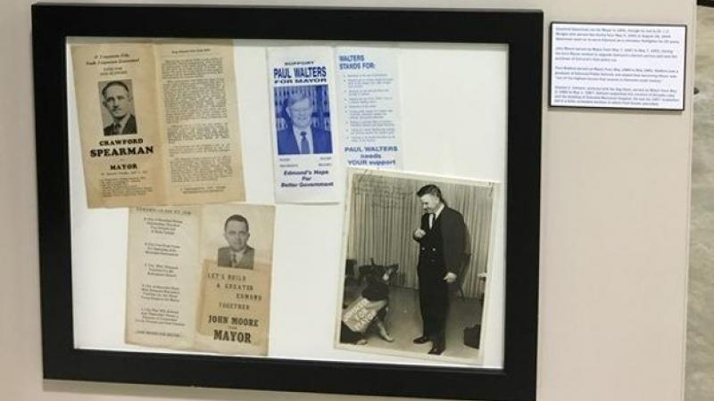 Political fliers from Edmond Mayoral campaigns from 1941 to 1991.