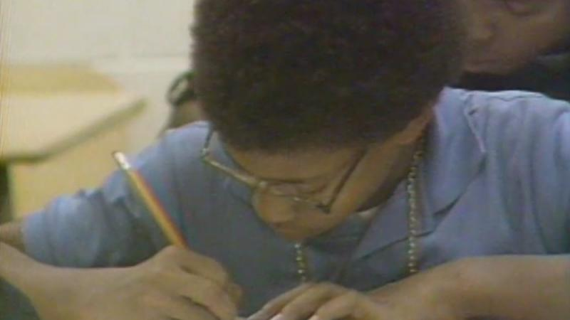A Detroit student depicted in an ABJ segment on the state of public education.