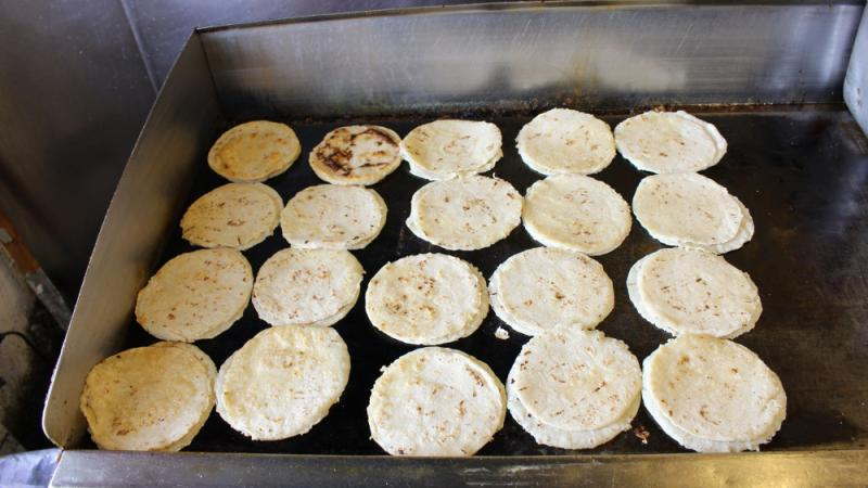 Tortillas from Tortillería Y Taquería Ramirez, Lexington, Kentucky.