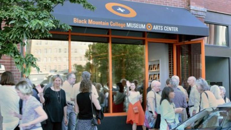 Black Mountain College Museum + Arts Center grand opening of second location