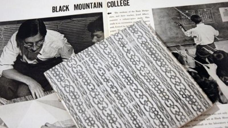 Black Mountain College Museum collection – primary materials