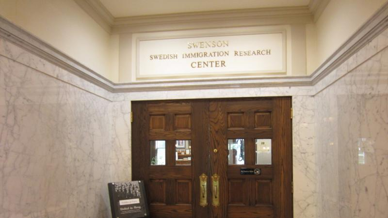 The Swenson Swedish Immigration Research Center