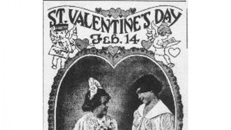 """St. Valentine's Day.""  The Patriot.  (Indiana, Pennsylvania) February 10, 1917."
