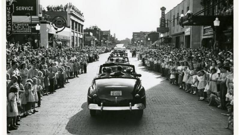The photograph most likely shows the Centennial Parade.