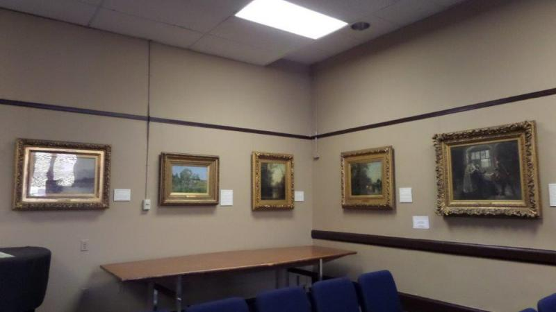 Paintings in the Paterson Public Library
