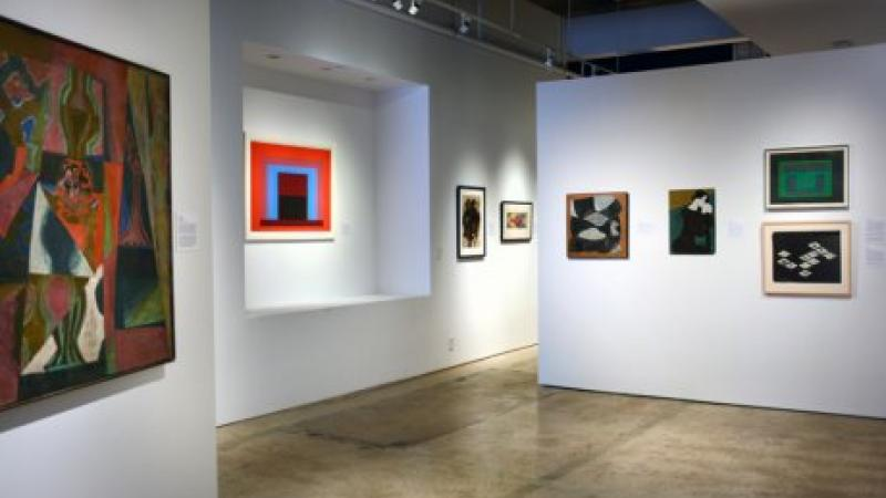The Painters of Black Mountain College Installation View, 2016