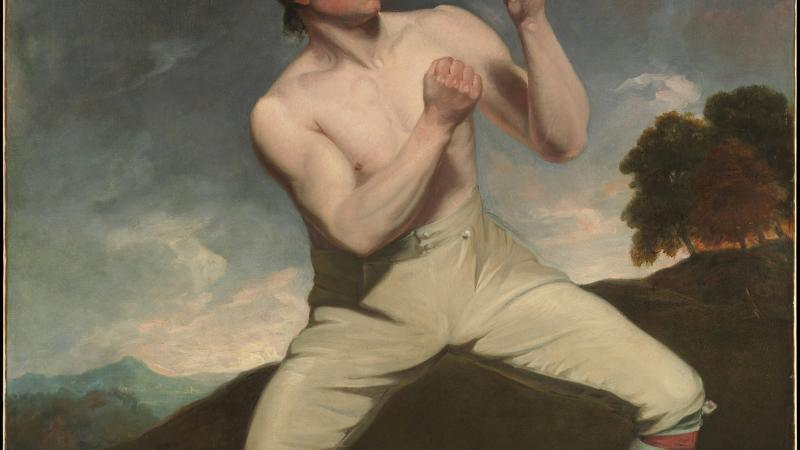 Richard Humphreys, the Boxer by John Hoppner