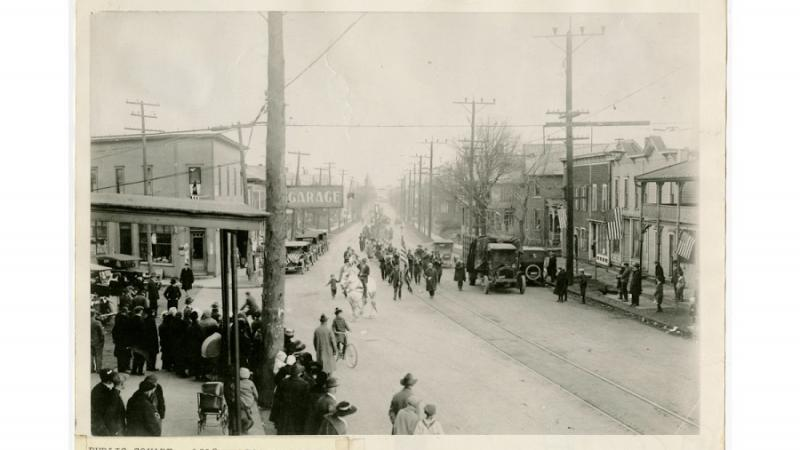 World War I Victory Parade in North Canton, Ohio
