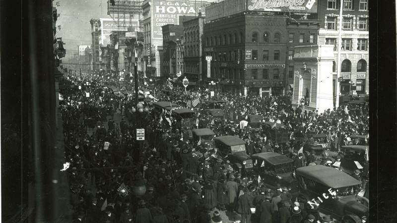 World War I Victory Parade in Columbus, Ohio