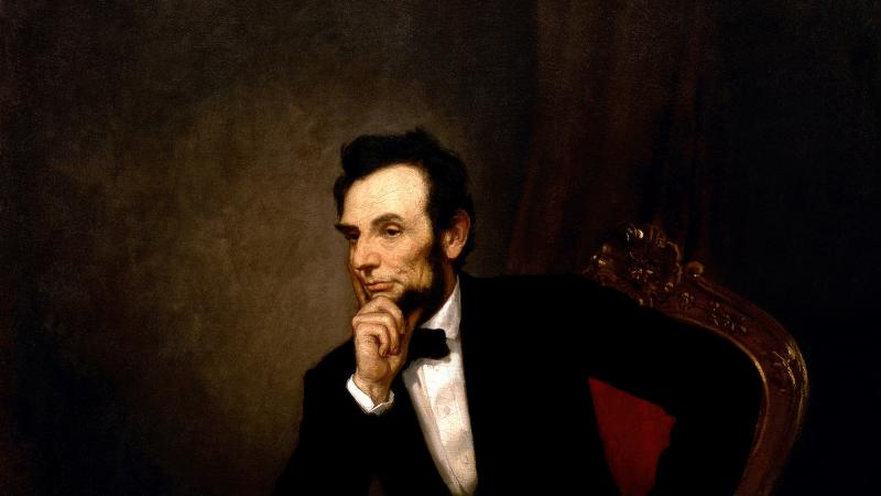 Portrait of Lincoln by George Peter Alexander Healy