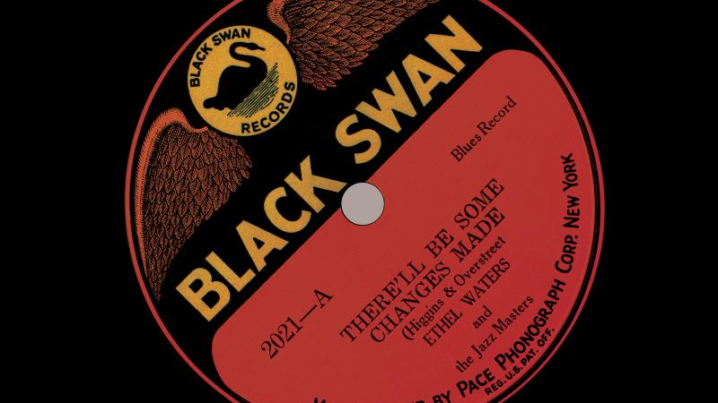 A record jacket from Black Swan Company