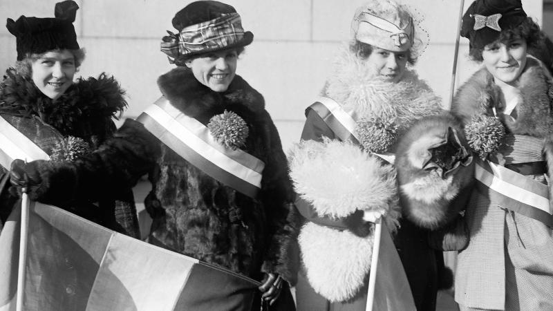 Suffragists in 1915