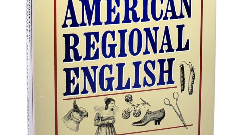 Dictionary of American Regional English cover.
