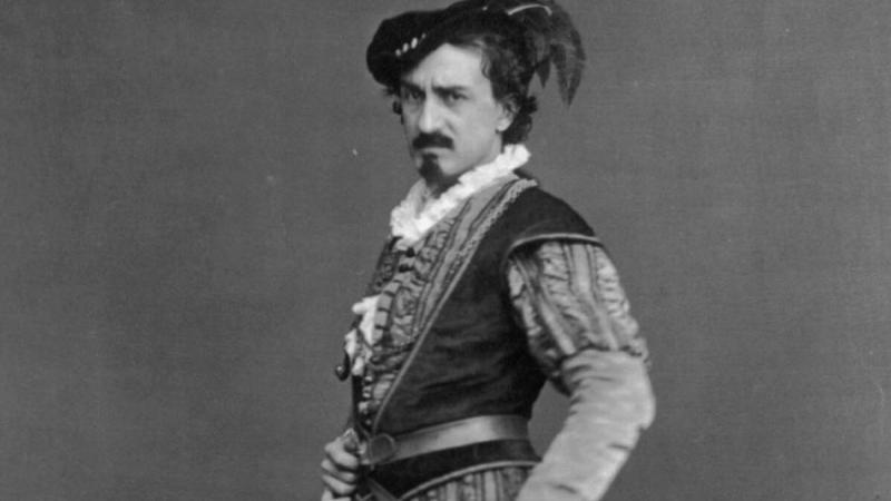 Portrait of Edwin Booth as Iago in Shakespeare's Othello, the Moor of Venice.