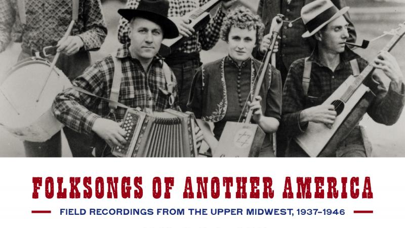 Folksongs of Another America book cover.
