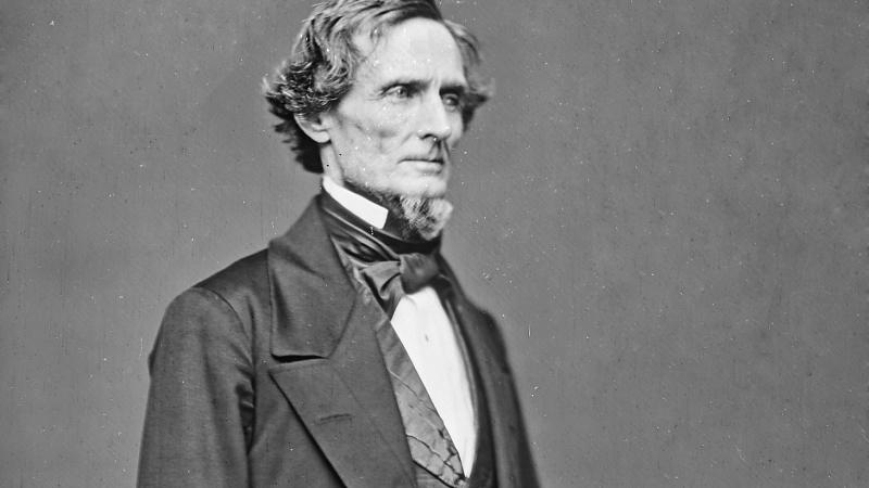 Jefferson Davis, the first and only President of the Confederacy.