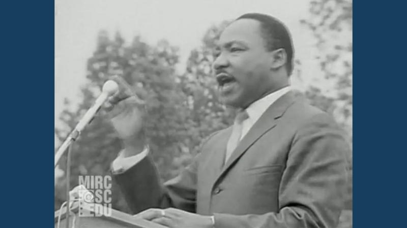 Martin Luther King, Jr. in Kingstree, SC - May 9, 1966.