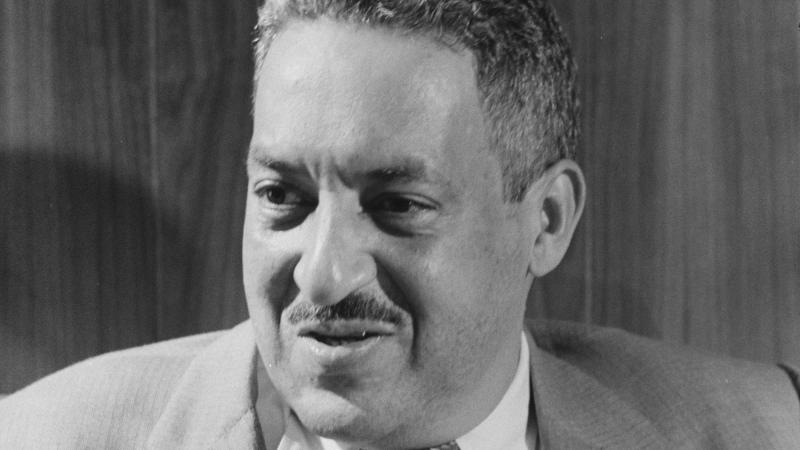Thurgood Marshall, attorney for the NAACP.