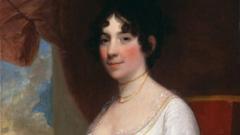 Dolley Madison, by Gilbert Stuart