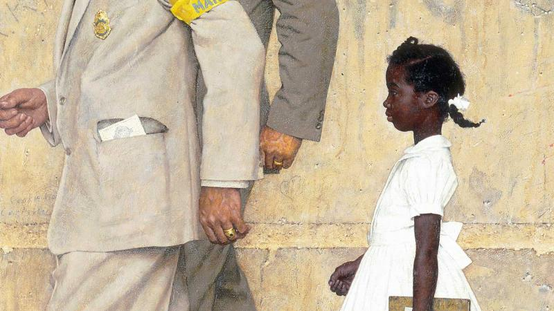 """The Problem We All Live With,"" Norman Rockwell, 1963"
