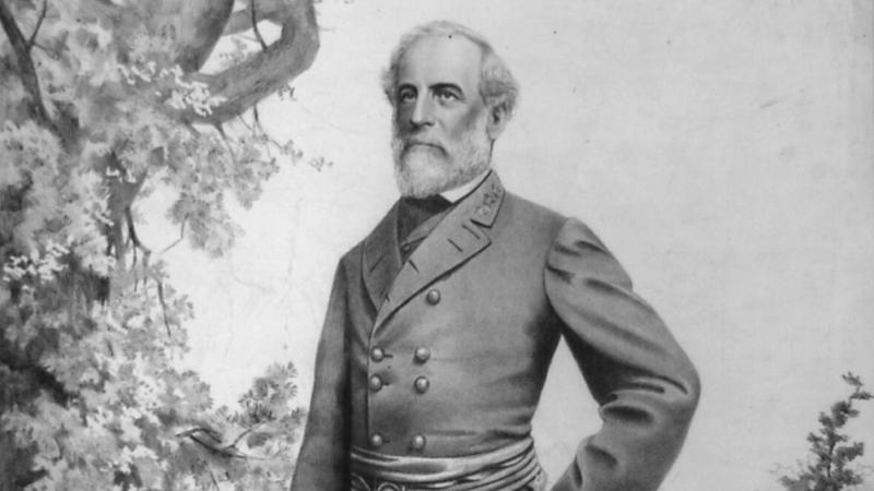 Robert E. Lee portrait by Vic Arnold.