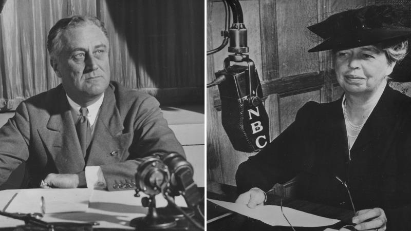 Franklin and Eleanor Roosevelt's Historic Broadcasts.