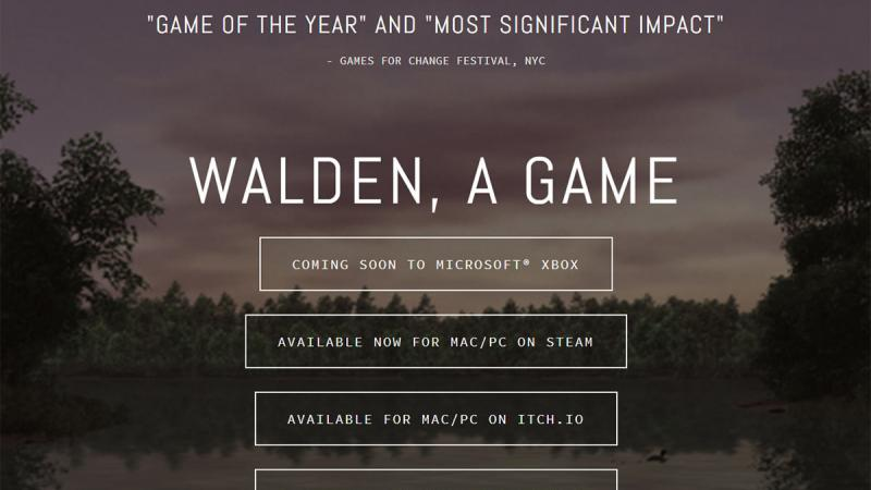 Walden, a Game.
