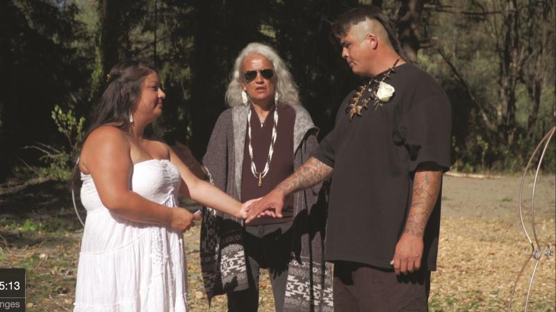 Native Justice wedding